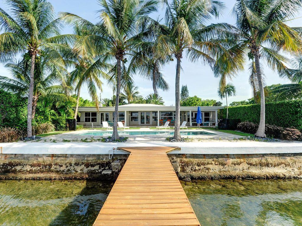 Miami Beach Design Villa - HomeAway Biscayne Point   Beach ...