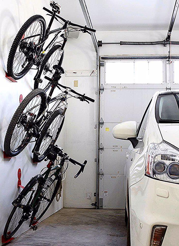 Bike Wall Hanger Dahanger Dan Bike Hook Reclaim Your Floor Space Bike Dahanger Dan Floor Hanger Hook In 2020 Bike Storage Garage Garage Bike Garage Storage