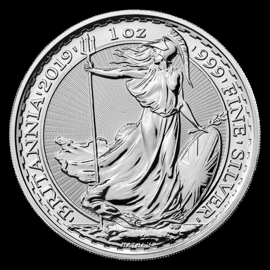 2019 Great Britain Silver Britannia In Bu Condition 1 Oz Fine Silver Will Ship In Protective Flip Or Capsul Silver Bullion Coins Silver Bullion Silver Coins