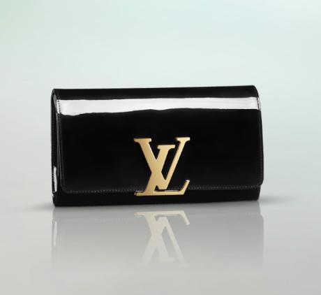 50e7bd2cdc3b Louis-Vuitton-Black-Patent-Louise-Clutch-Bag.png 460