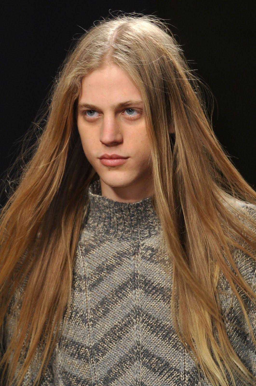 Konan Hanbury Missoni Men S Fall Winter 2014 Long Hair Styles Men Boys Long Hairstyles Long Hair Styles