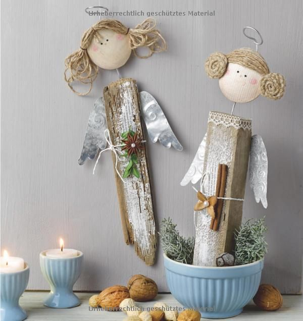 Naturzauberweihnacht dekoratives aus naturmaterial for Decoration de noel amazon
