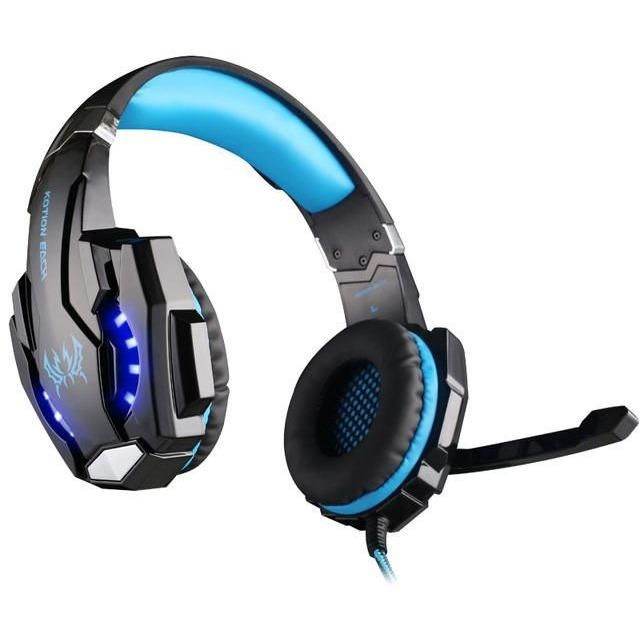 Wireless Gaming Headset with Mic and LED Light Laptop Computer Cellphone PS4