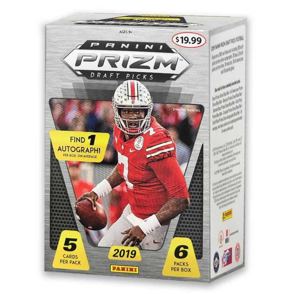Panini 2019 Prizm Draft Pick Collegiate Football Trading