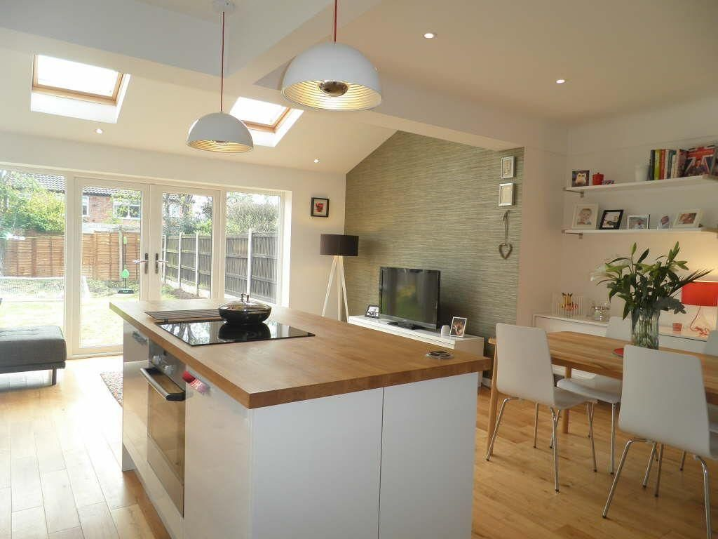 Kitchen Diner Flooring 3 Bedroom Semi Detached House For Sale In Orchard Close Upton