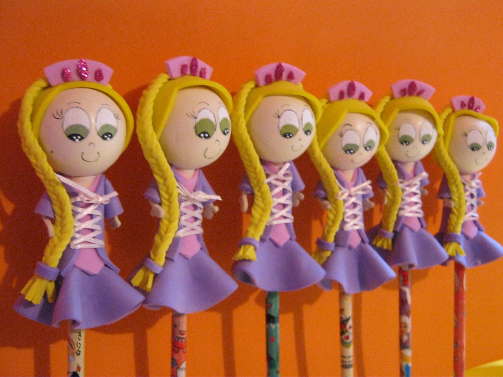 Manualidades   Mis Fofuchas 2013 Artfoamicol: Manualidades En Foami-Fiesta-Rapunzel ...