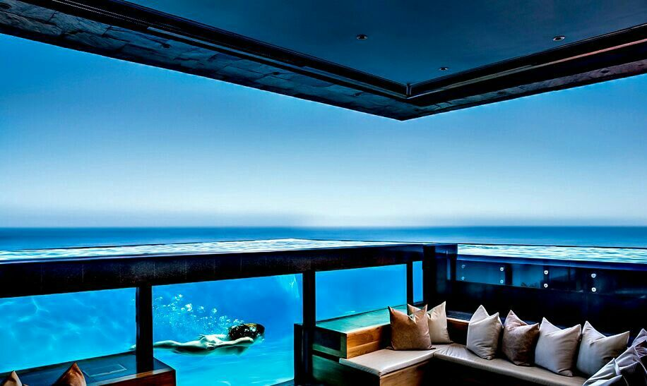 Cool lounge.. mean view