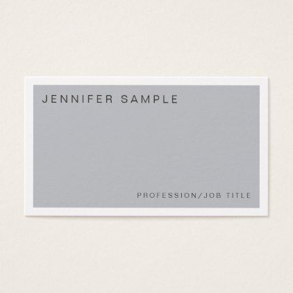 modern stylish colors trendy design glamour business card simple clear clean design style unique diy