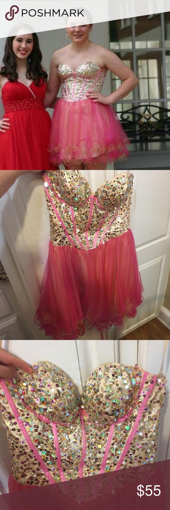 May queen short prom dress my posh closet pinterest short prom
