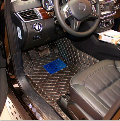 Custom Special Floor Mats For Ford Explorer 7seats 2017 Non Slip Durable Carpets 2016 Free Shipping