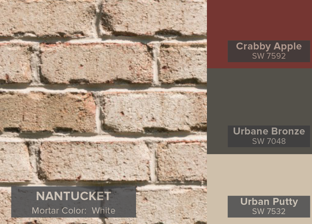 Most popular general shale brick colors nantucket brick from the most popular general shale brick colors nantucket brick from the vintage collection geenschuldenfo Choice Image