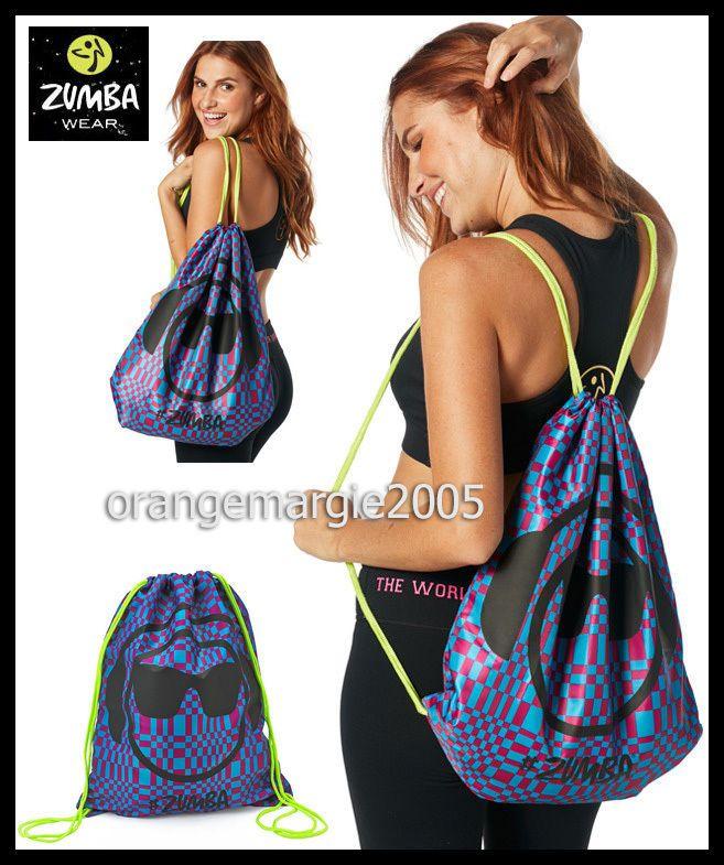 Zumba JUMBO Zmoji TOTE BAG-Gym-Travel-Backpack-Great Gift-DURABLE-fr.Convention  #ZUMBAZUMBAFITNESS