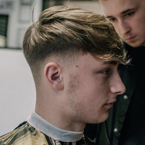 Instagram Photo By Britishbarbersgotstyle British Barbers Got Style Via Iconosquare Men Blonde Hair Faded Hair 90s Hair Men