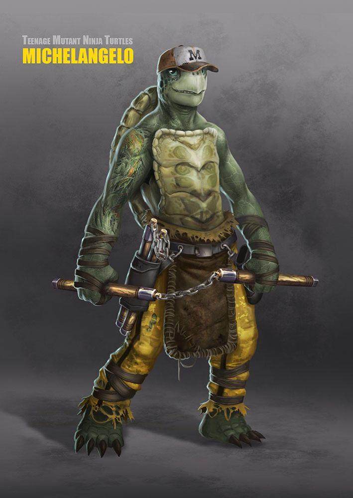 Teenage Mutant Ninja Turtle Michelangelo By Ancorgil Comics Tmnt Tmnt Ninja Teenage Mutant Ninja Turtles