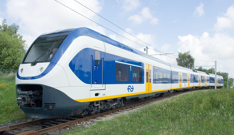 Ns Sprinter Light Train Ns Dutch Trains Trein Reizen Locomotief