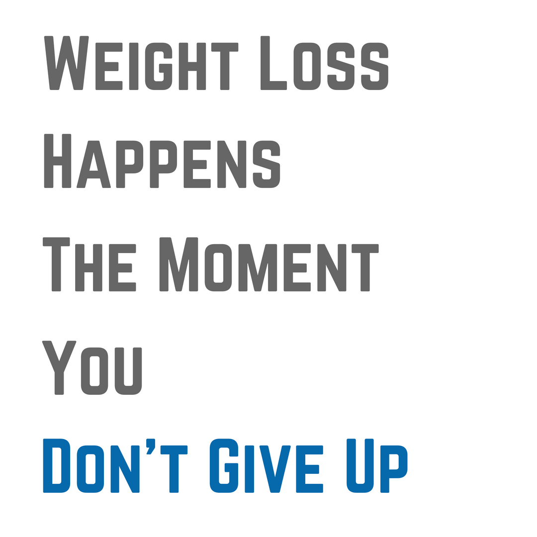 Persistence Motivational Quotes: Most People Are So Close To Experiencing Weight Loss But