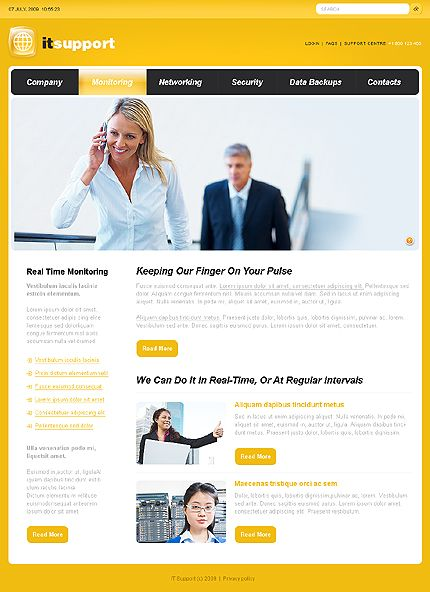 Website Templates It Support Website Templatesastra  It Support Website