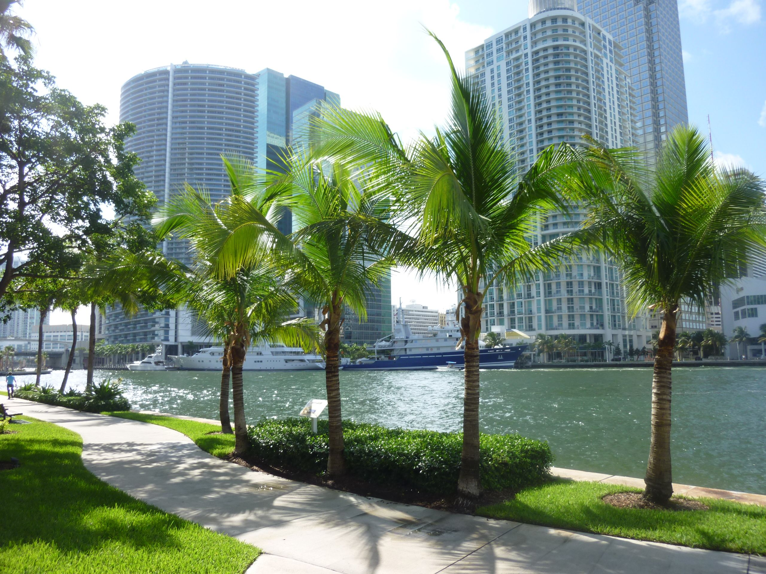 Brickell bay places sunshine state favorite places