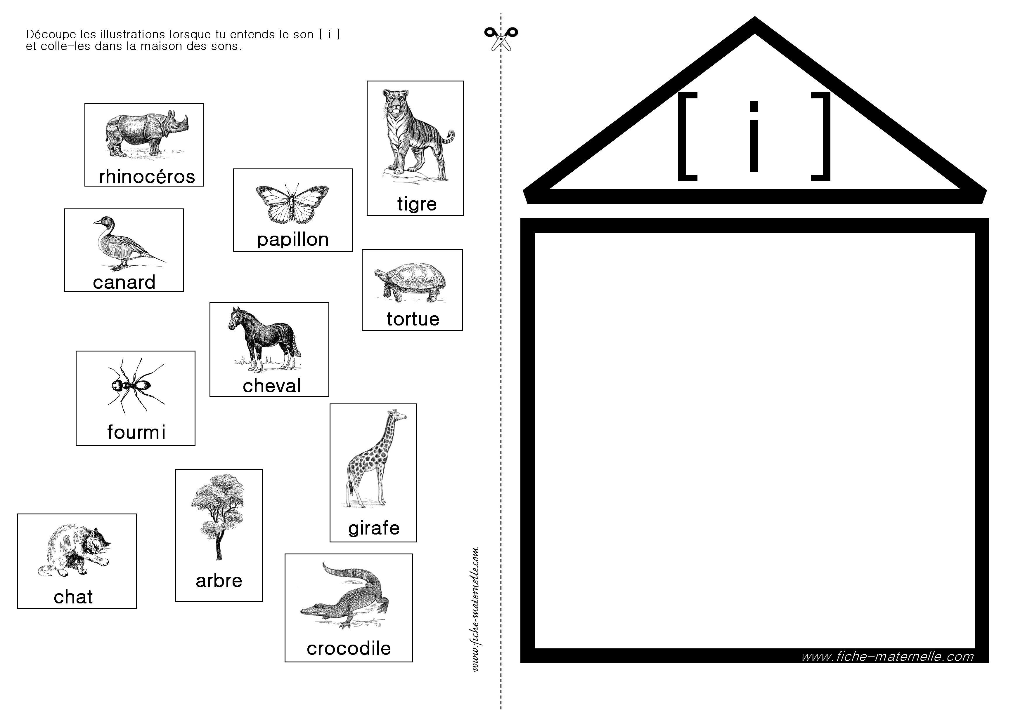 apprendre lire en maternelle et cp exercices autour du son i fran ais pinterest. Black Bedroom Furniture Sets. Home Design Ideas