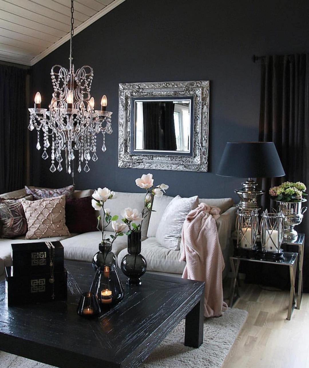 Glam Home Interior Design On Instagram Follow Glamhomedecorr For More Home Inspiration Credit Sivbu Home Decor Living Room Ideas 2019 House Interior