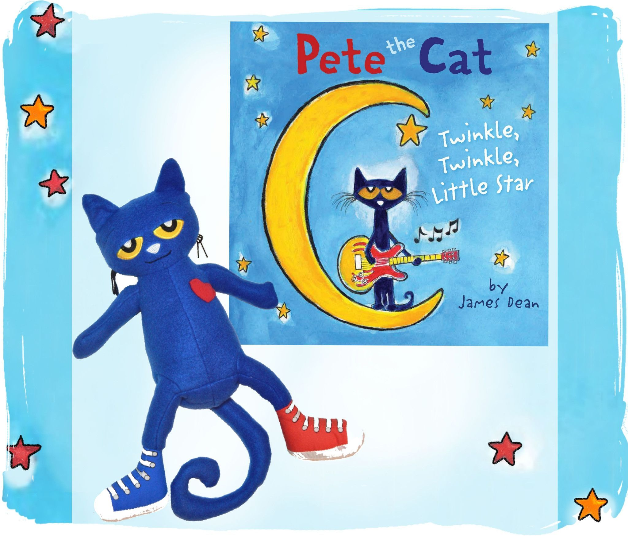 Pete The Cat Book And Toy Set