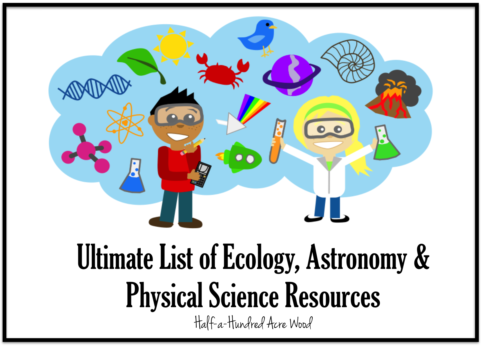 Ecology Astronomy And Physical Science Resources