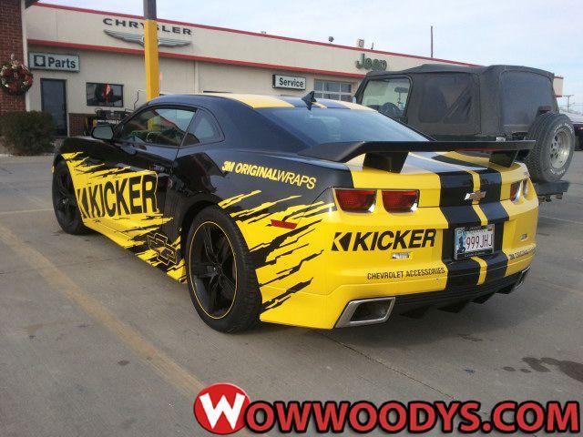 #Chevrolet #Camaro #Kicker