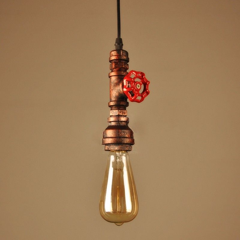vintage industrial lighting fixtures. Delighful Vintage Vintage Industrial Retro Pendant Lamp Personalized DIY Restaurant Bar  Industrial Edison E27 Holder Water Pipe Lighting On Vintage Lighting Fixtures U
