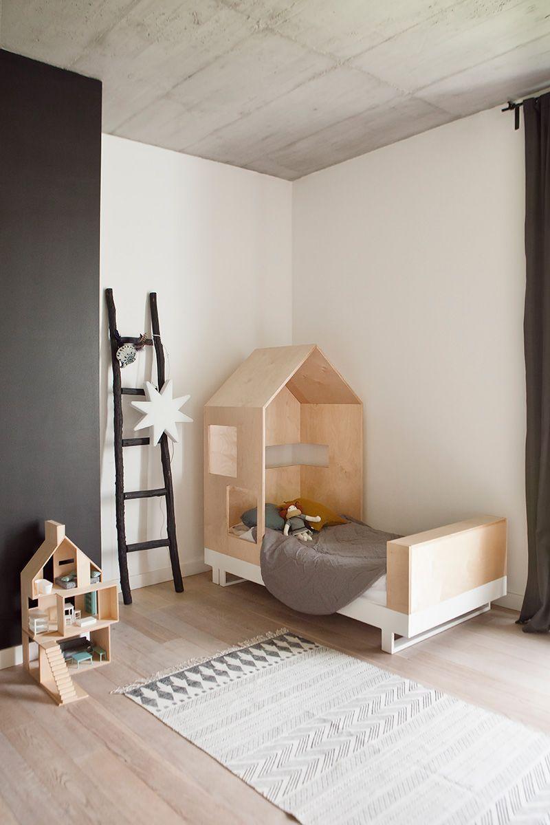 Kinderbett spielhaus  Kutikai | Hausbett, Kinderzimmer und Kopfteile