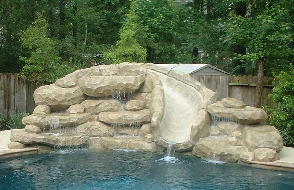 Water Feature Ideas Houston Cool Swimming Pools Pool Water Slide