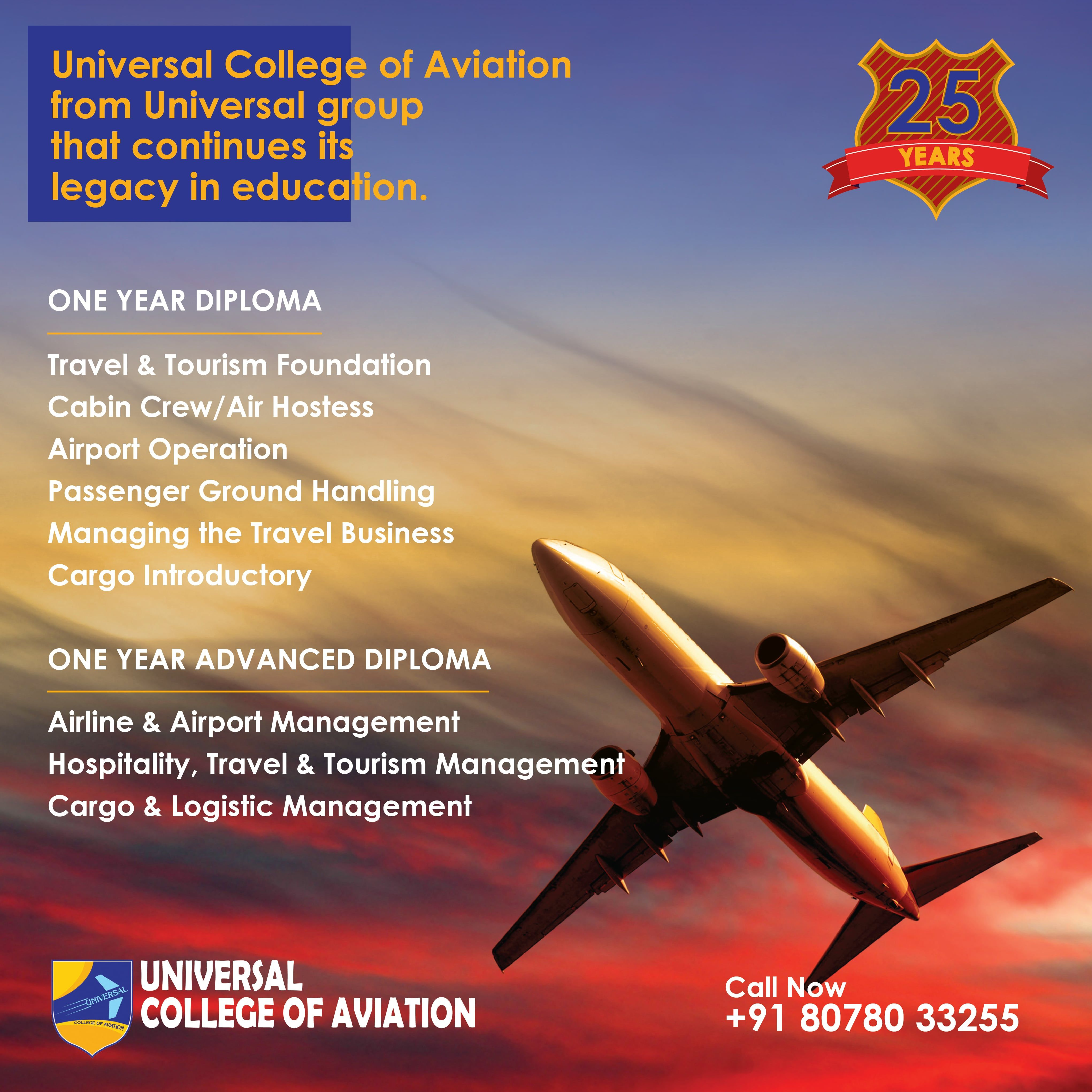 Universal College of Aviation is the best Aviation College