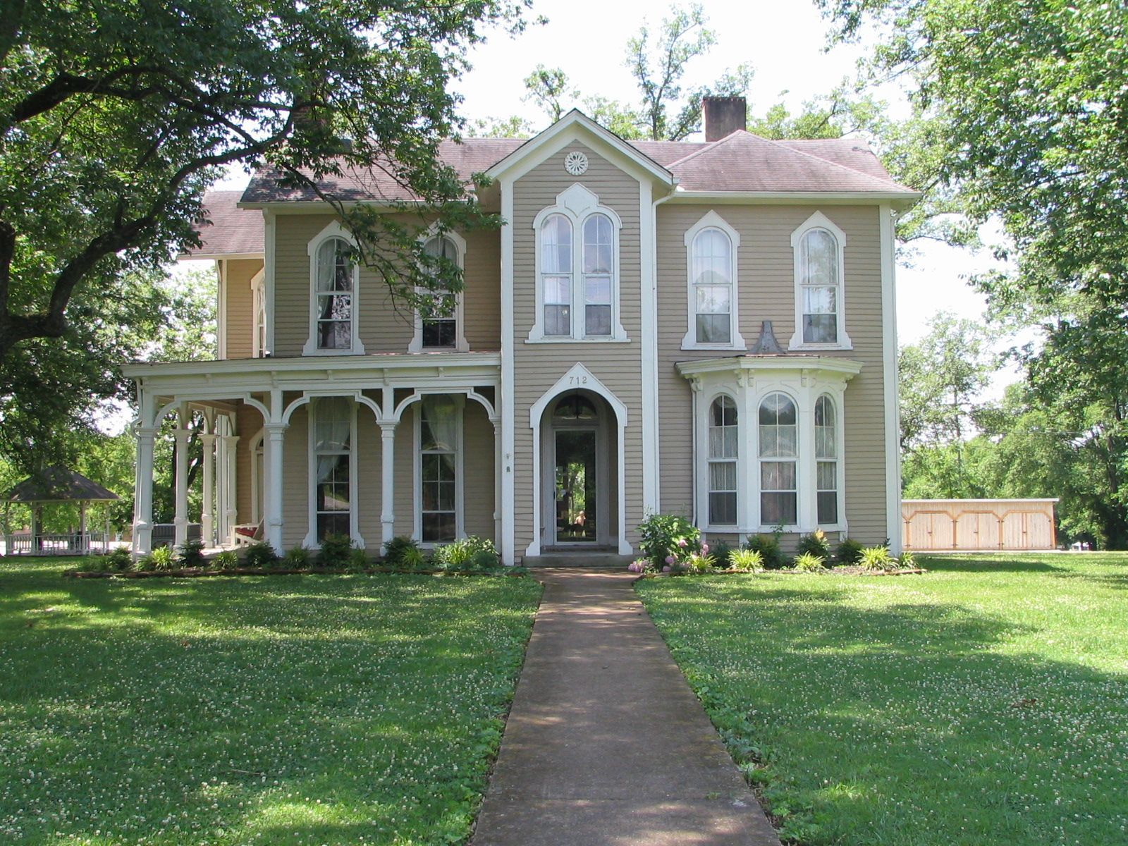 Italianate Farmhouse 1874 Italianate Farmhouse Listed On The National Register Of