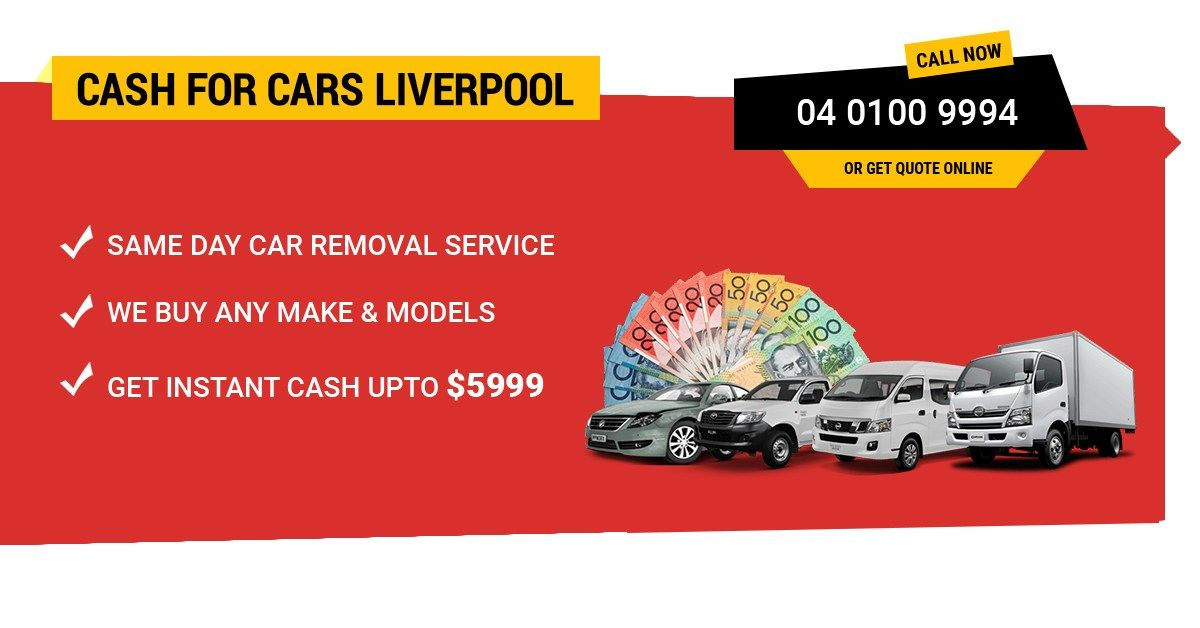 Quick Cash For Cars Liverpool 2170 Sell My Car Fast Free Car