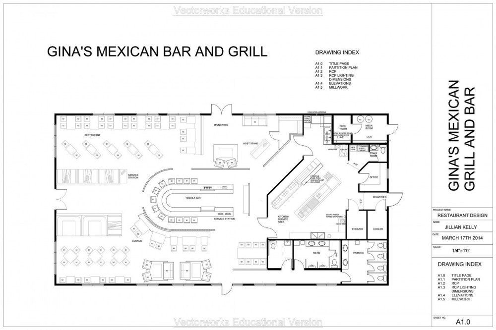 Image Result For Restaurant Floor Plan With Cool Bar