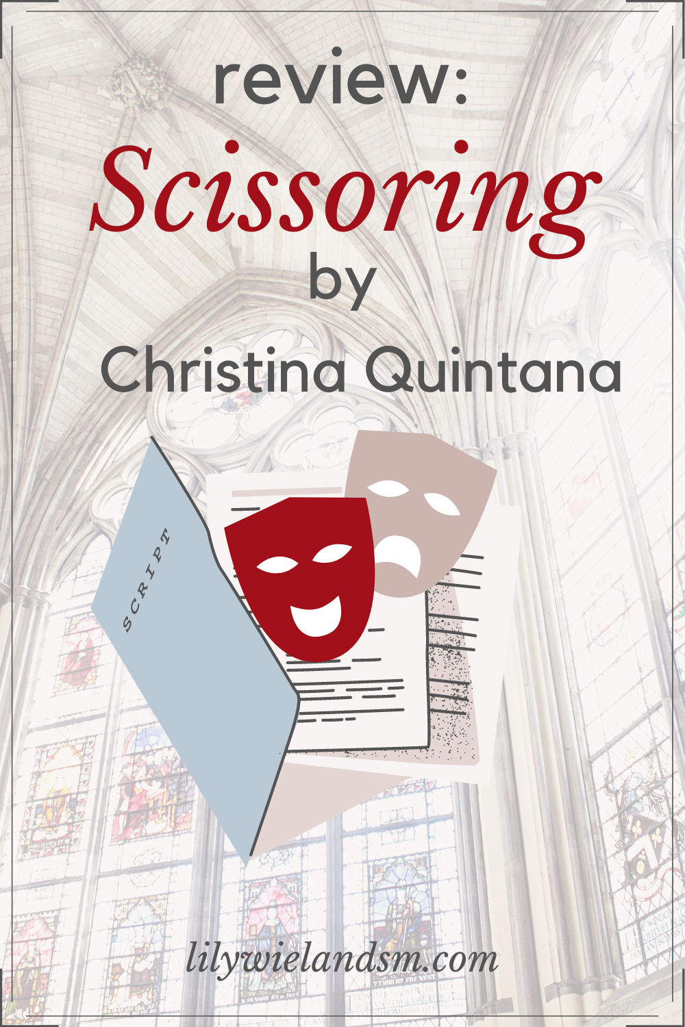 Review Scissoring By Christina Quintana Theatre Reading Literature Play Review Reading Writing Literature [ 1500 x 1000 Pixel ]