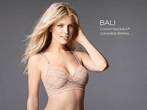 9f8332eed9b28 Meet  Bali 3550 Comfort Revolution Convertible Wirefree Bra http   bit.ly