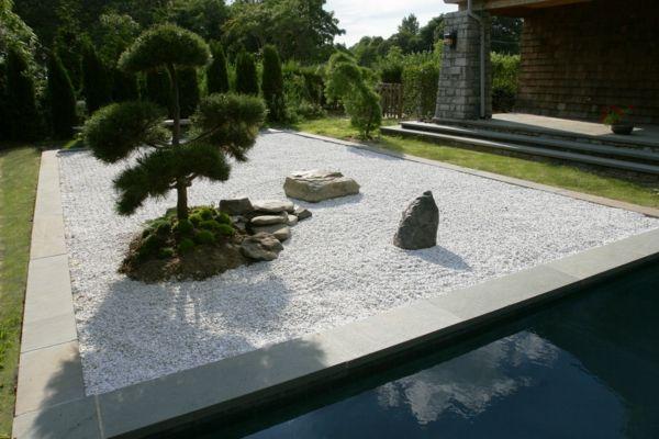 Wasser Zen Garten Anlegen Japanische Gärten