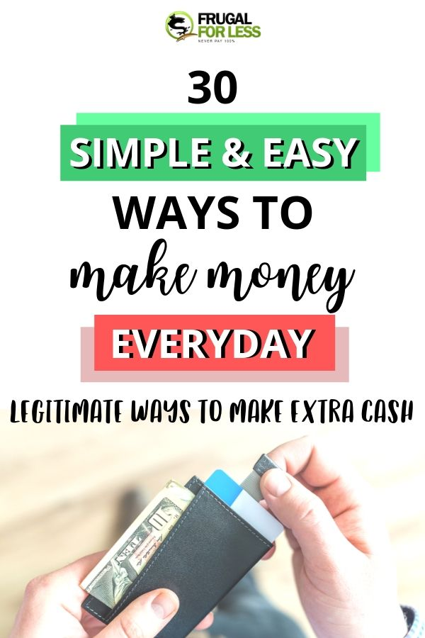 Photo of 30 Simple and Easy Ways to Make Money Everyday