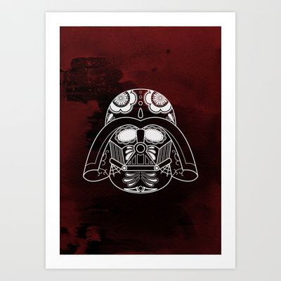 Darth Vader Art Print by vrdgrs - $20.00