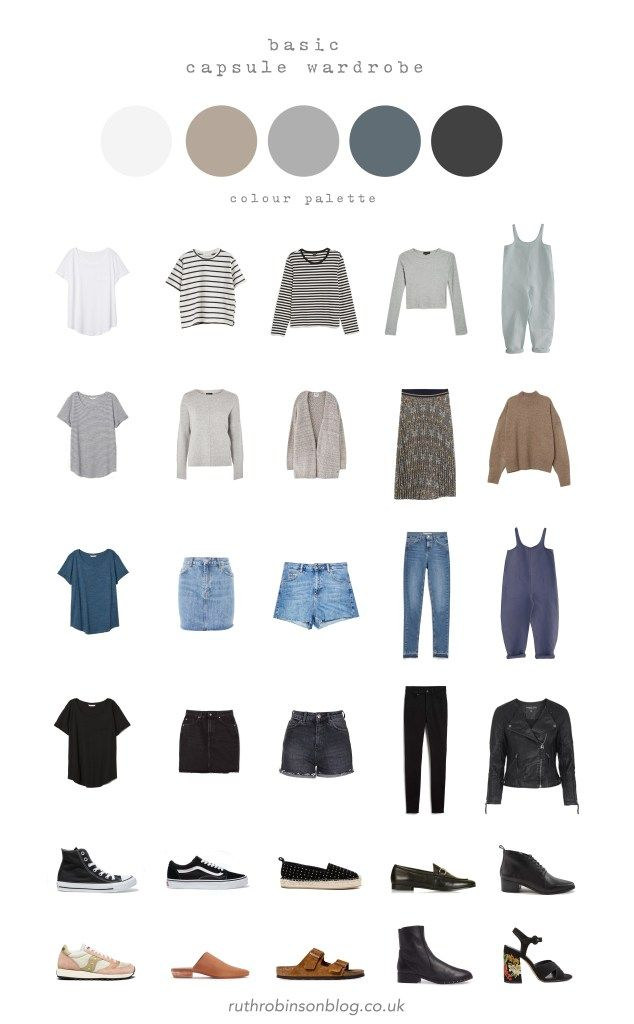 My Basic Capsule Wardrobe