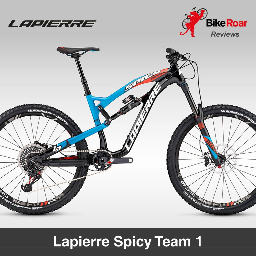 Lapierre Spicy Team 1 High Performing Enduro Racer Proves Looks Aren T Everything Full Review Http Www Biker Performance Bike Bike Gear Mtb Bike