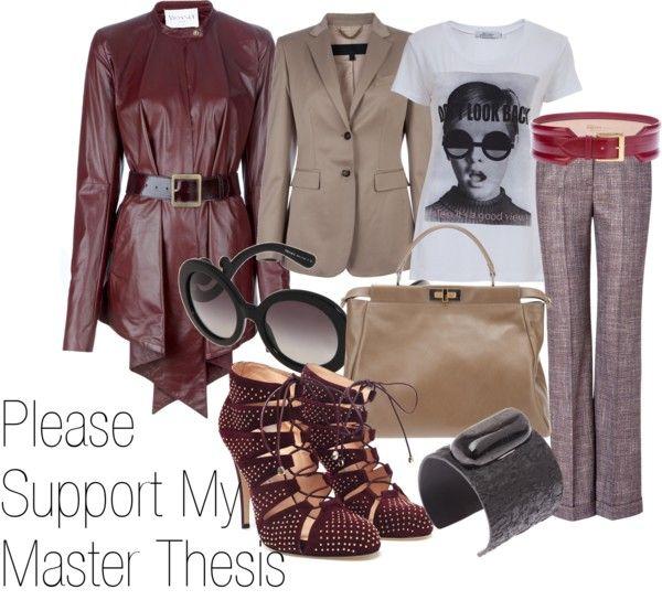 fashion thesis statement