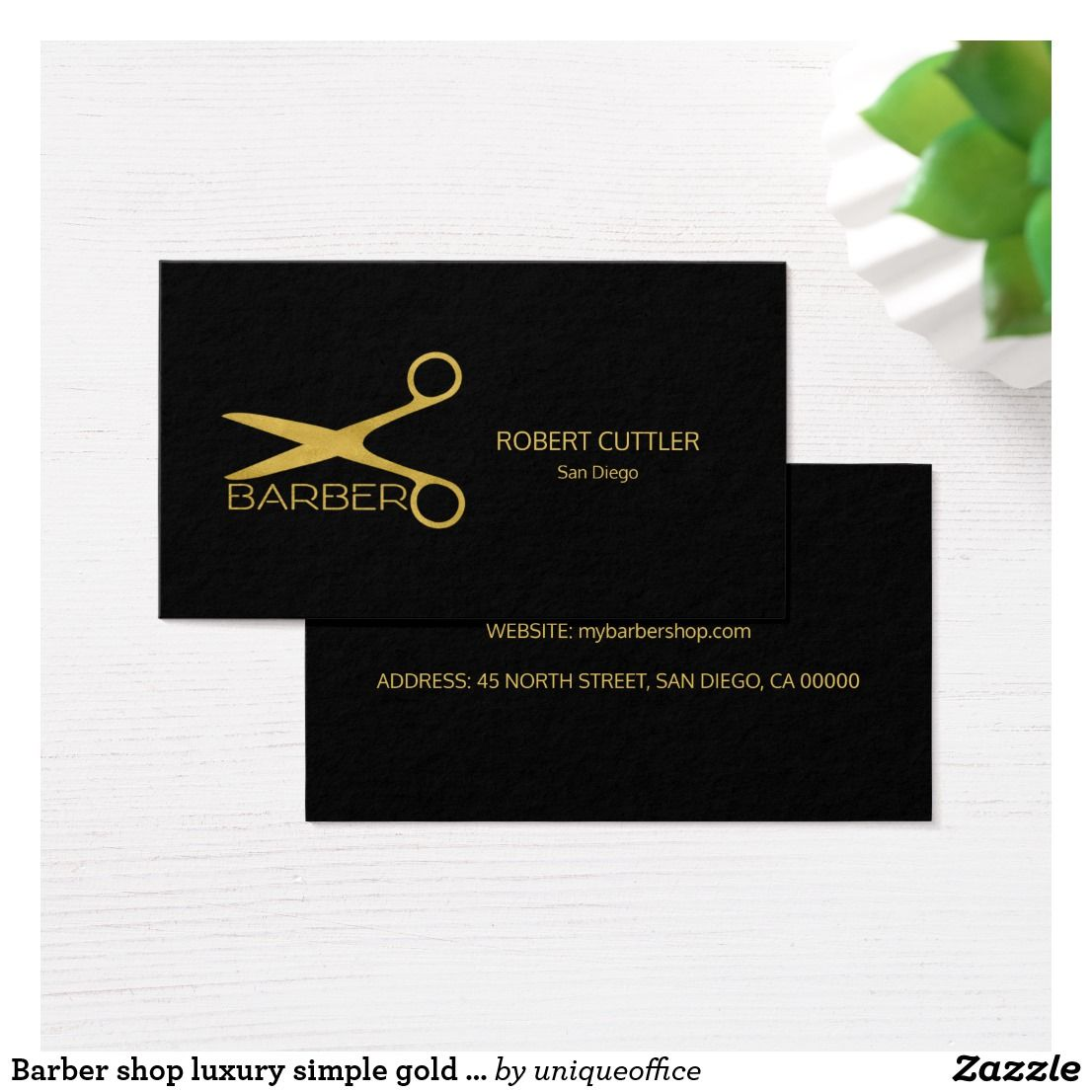 Barber shop luxury simple gold black business card business pens barber shop luxury simple gold black business card magicingreecefo Gallery