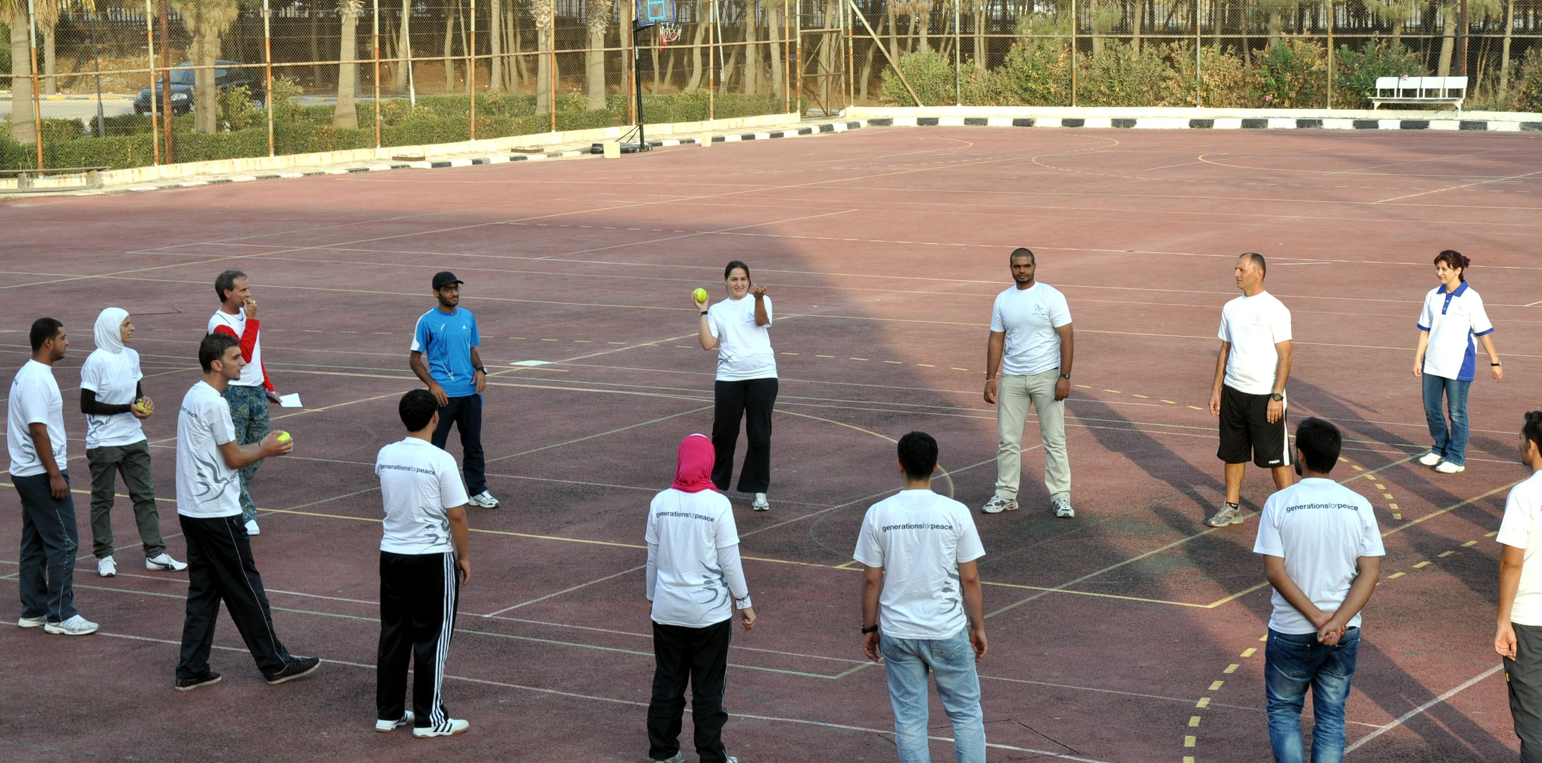 In Jordan Generations For Peace Delegates Trained 22 Youth Leaders