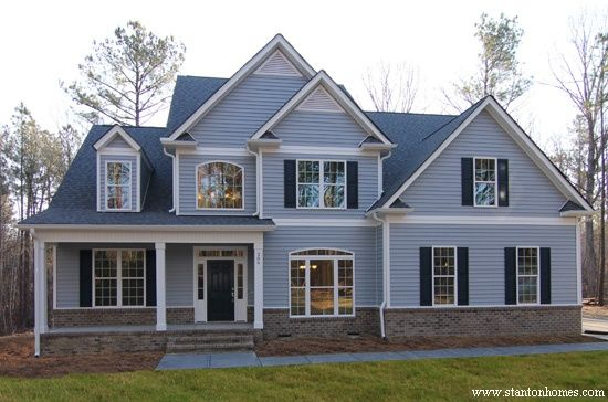 Image Result For Light Blue Siding House Colors House House Siding