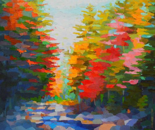 Autumn on Swift River by Brian Kiernan