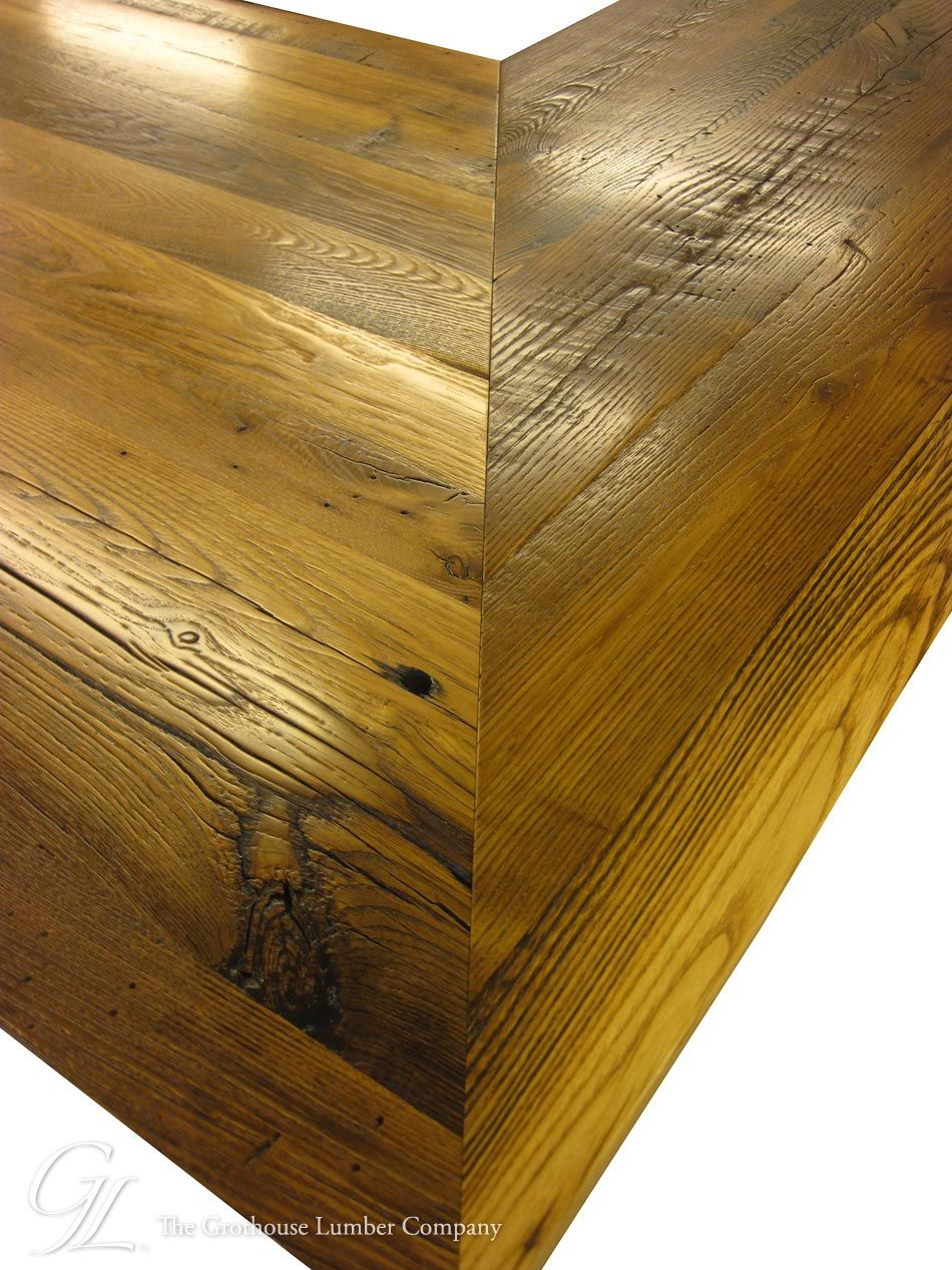 reclaimed chestnut wood counter in linville, north carolinareclaimed chestnut wood counter in linville, north carolina