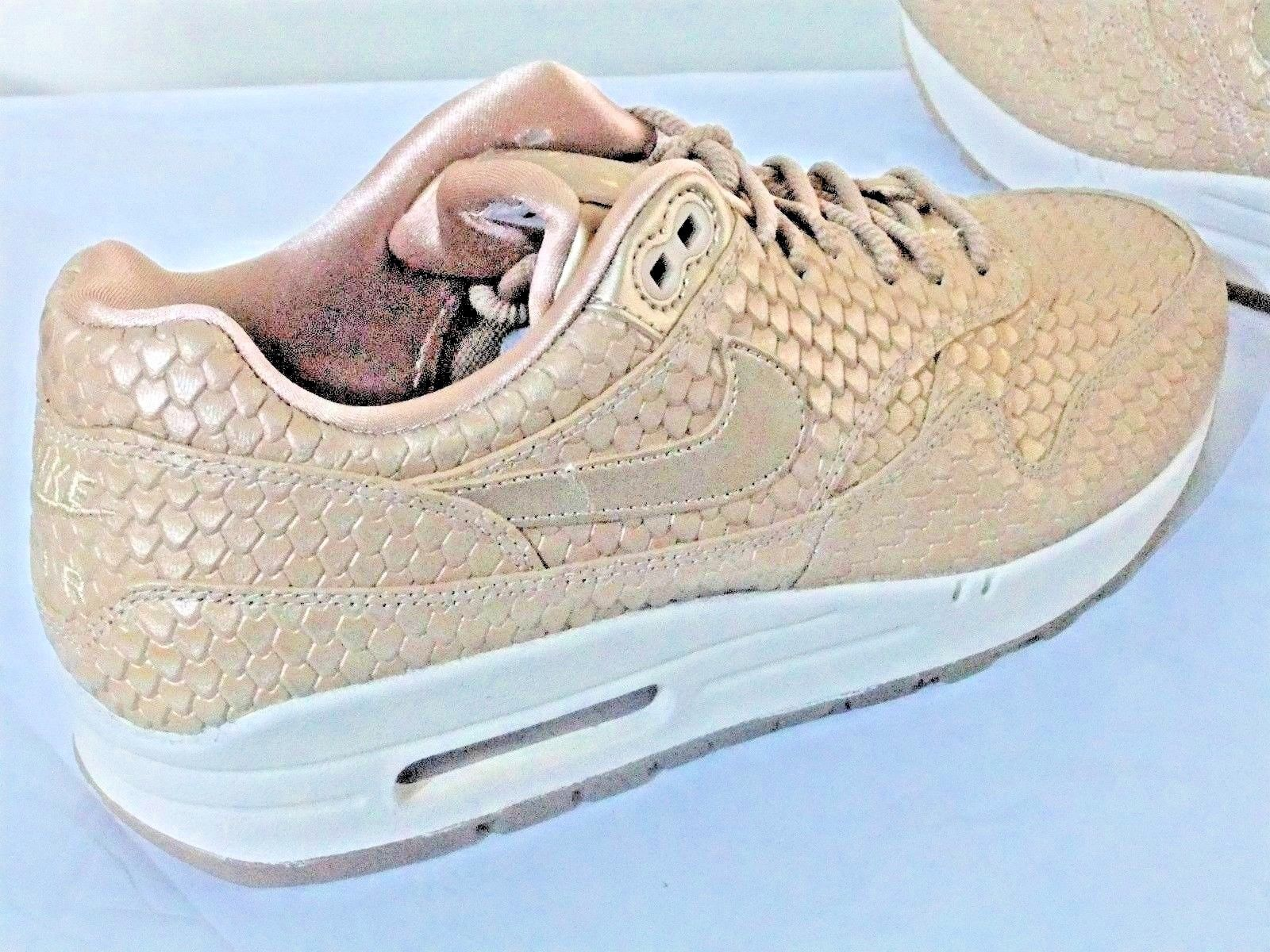 best cheap c1aa5 188fb NIKE AIR MAX 1 PREMIUM WOMEN S SHOES TRAINERS UK SIZE 6.5 454746 900