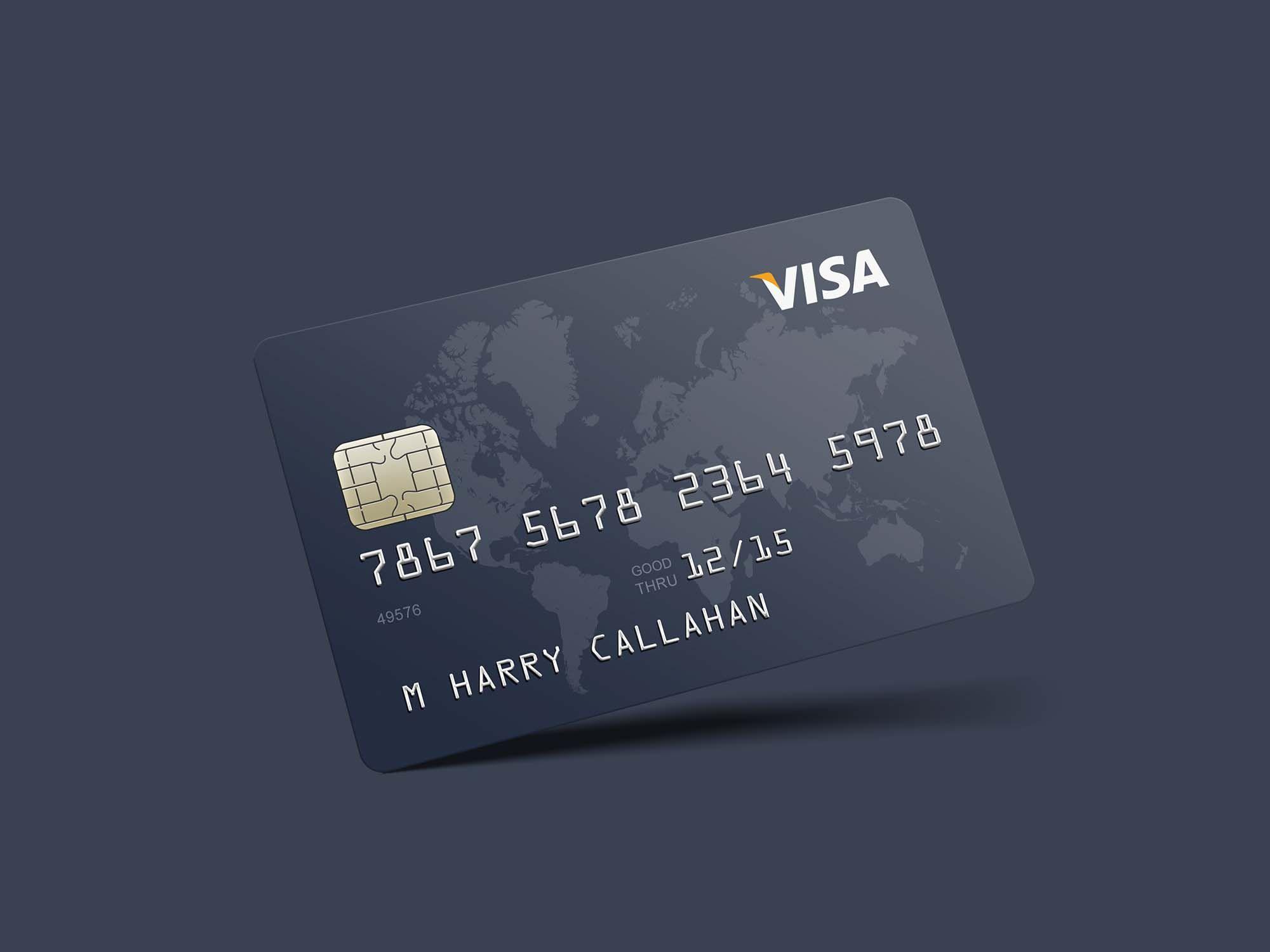 Credit Card Mockup Credit Card Design Business Cards Mockup Psd Credit Card Hacks