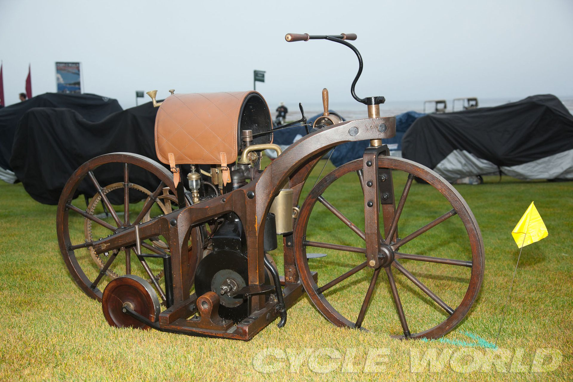 Gottlieb Daimler And Wilhelm Maybach Built The First Motorcycle